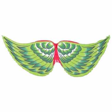 Vogel kinder vleugels groen