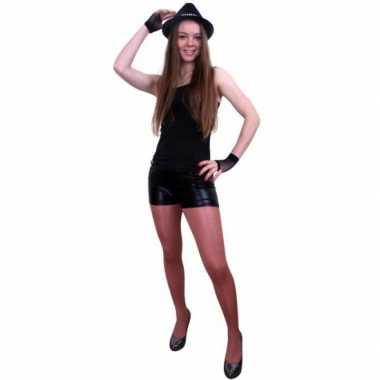 Zwarte hotpants dames