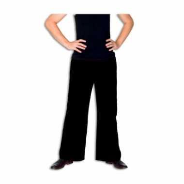 Zwarte verkleed broek voor heren