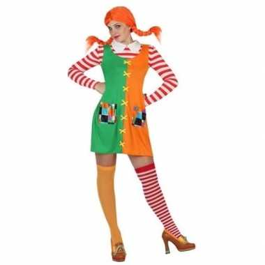 Zweeds sterk meisje carnavalskleding voor dames