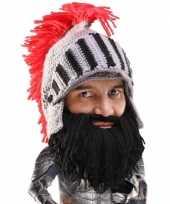 Beard head barbarian knight muts