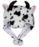 Carnaval koeien muts kids
