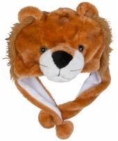 Carnaval leeuwen muts kids