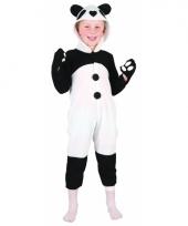 Carnavalskleding panda voor peuters