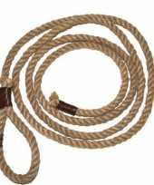 Cowboy lassos van touw