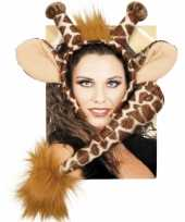 Dieren verkleedset giraffe