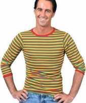 Dorus trui rood geel groen voor heren
