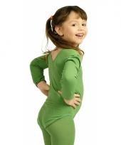 Groene kinder ballet carnavalskleding