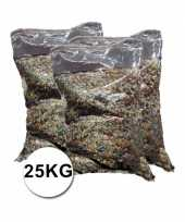 Grote verpakking confetti snippers ca 25 kilo