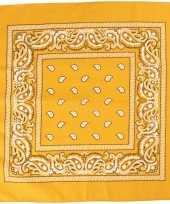 Hobby doek geel 55x55 cm