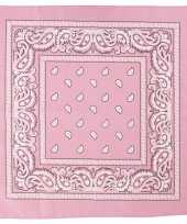 Hobby doek roze 55x55 cm