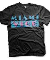 Miami vice t-shirt heren