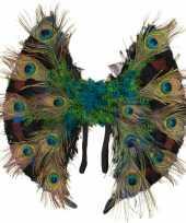 Pauwenveren vleugels
