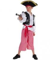 Piraten carnavalskleding kinderen