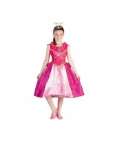 Prinsessia verkleed carnavalskleding roze