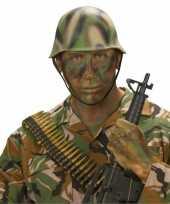 Soldaten helm camouflage