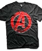The avengers embleem shirt voor heren