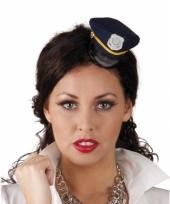 Tiara met kleine blauwe politie pet