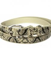 Verkleed riem slangenprint 105 cm 10068378