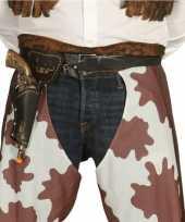 Western cowboy revolver inclusief holster