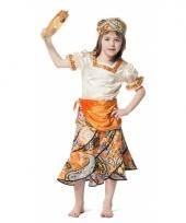 Zigeunerin carnavalskleding voor meisjes