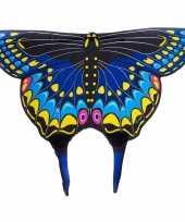 Zwarte zwaluwstaartvlinder vleugels voor kids